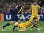 Украина - Швеция - 2:1. Видеообзор