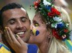 Поддержка сборной Украины превысила шум Ниагарского водопада