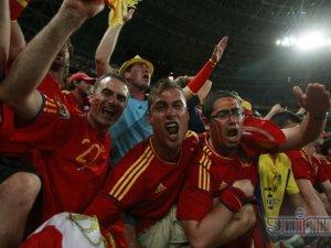 Вболівальники збірної Іспанії