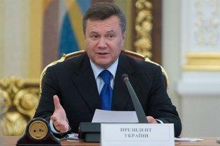 """Янукович зустрівся з головою """"Газпрому"""""""