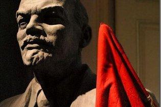 В России взорвали памятник Ленину