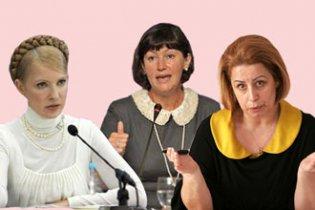 Оприлюднено рейтинг найперспективніших жінок-політиків України
