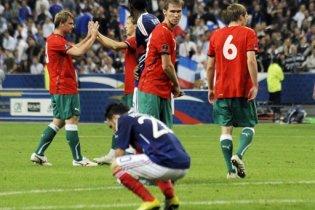 Беларусь сенсационно обыграла Францию на ее поле