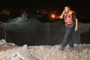 """Израильские ВВС бомбят объекты """"Хамаса"""" в секторе Газа"""