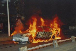 На Запорожье трехлетняя девочка сгорела в автомобиле