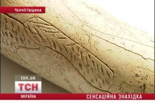 На Черниговщине раскопали уникальное произведение искусства эпохи палеолита
