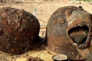 В Донецке найдено захоронение солдат Вермахта