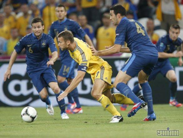 Україна - Франція - 0:2