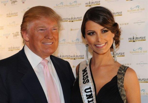Дональд Трамп і Стефанія Фернандес