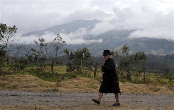 Виверження вулкану у Колумбії