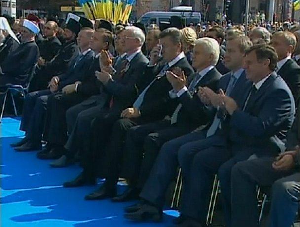 Віктор Янукович на Майдані