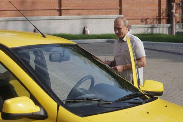 """Путін вирушив у подорож Чита-Хабаровськ на """"Лада Калина""""_11"""