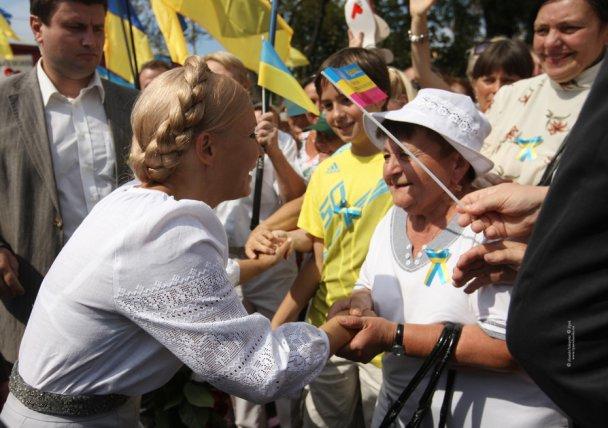 Тимошенко змінила імідж_4