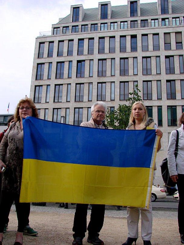 Пікет проти Януковича у Німеччині_2