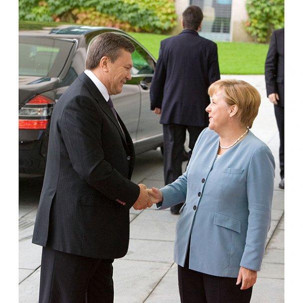 Віктор Янукович у Німеччині_1