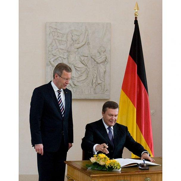 Віктор Янукович у Німеччині_8