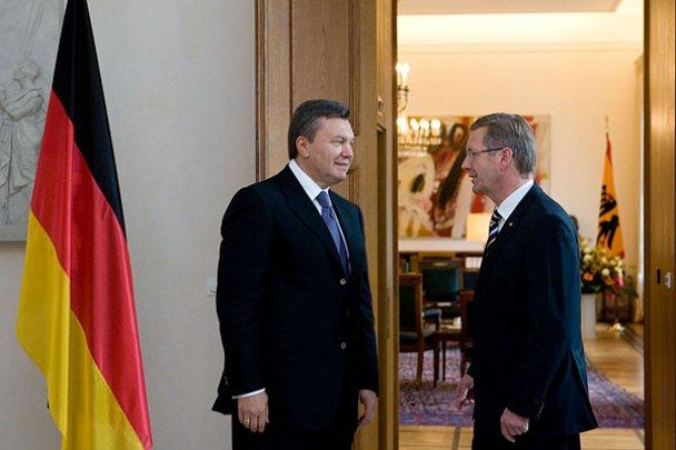 Віктор Янукович у Німеччині_9