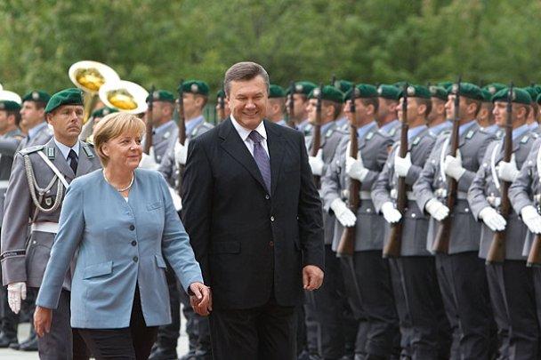 Віктор Янукович у Німеччині_12