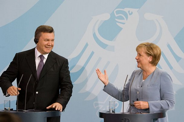 Віктор Янукович у Німеччині_13