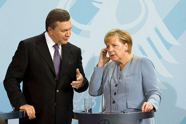 Віктор Янукович у Німеччині_14