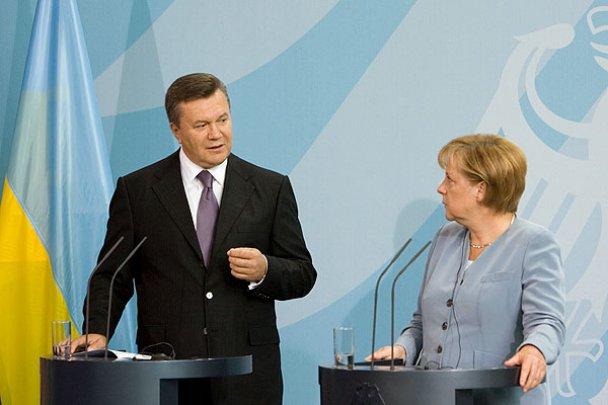 Віктор Янукович у Німеччині_15