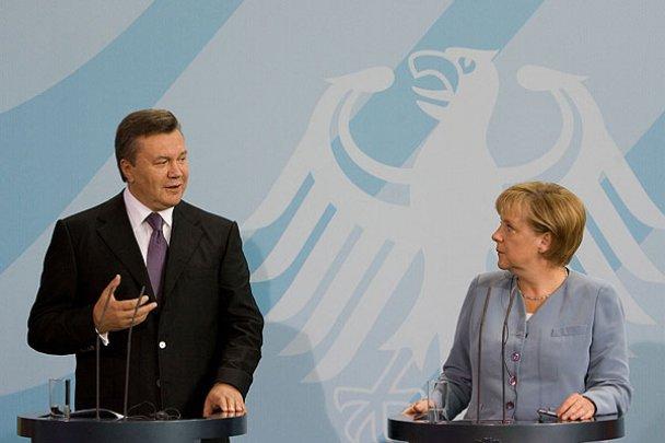 Віктор Янукович у Німеччині_16