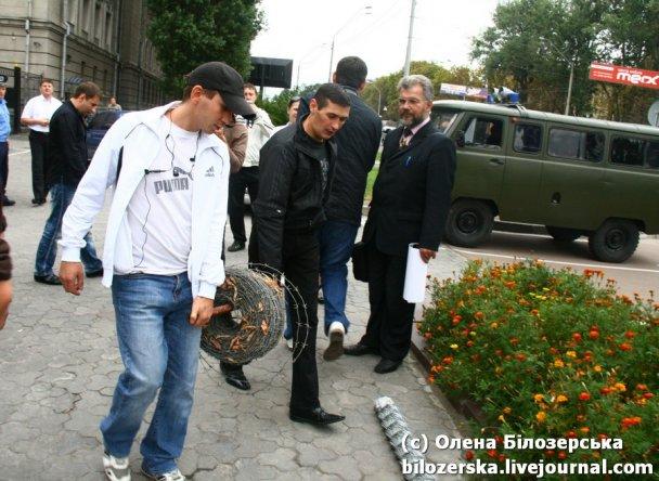 Акція під посольством РФ_4
