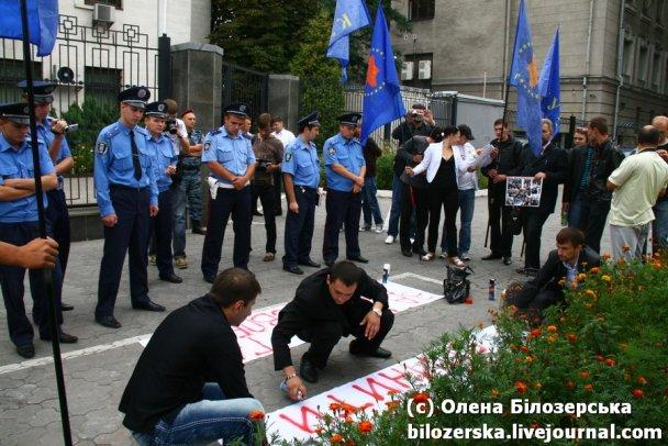 Акція під посольством РФ_8