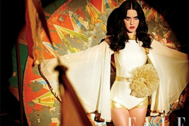 Кеті Перрі в образі циркачки в новому Elle US_5