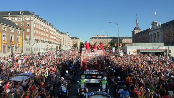 Мадрид святкує перемогу Іспанії на Євро-2012_1