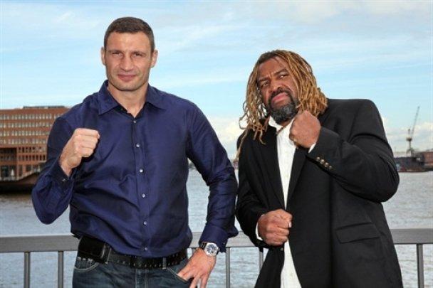 Віталій Кличко і Шеннон Бріггс провели прес-конференцію_6