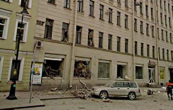 обвал будинку у петербурзі