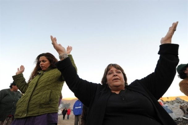 Родичі заблокованих у Чилі шахтарів
