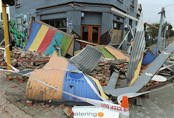 Зруйноване землетрусом новозеландське місто Крайстчерч відновлюватимуть 20 років