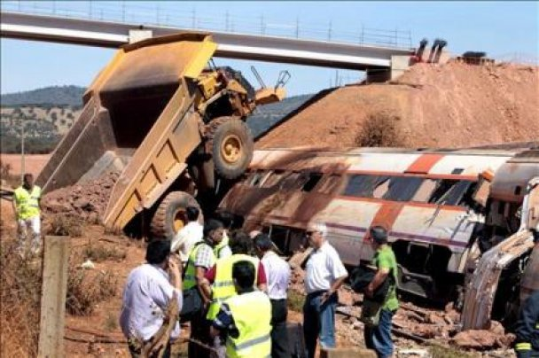 Аварія потяга в Іспанії_1