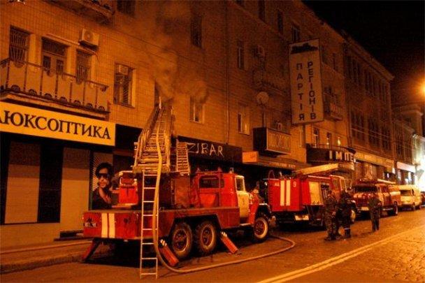 Пожежа в центрі Харкова_6