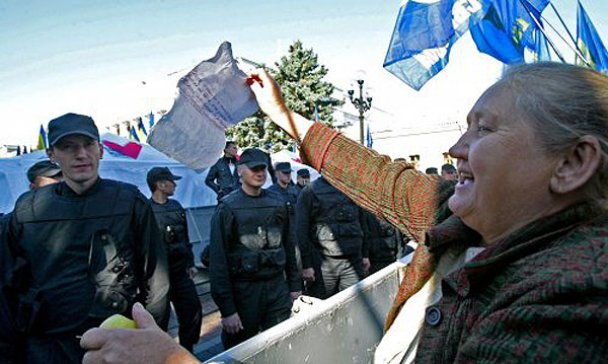 Мітинг опозиції біля Верховної ради_2