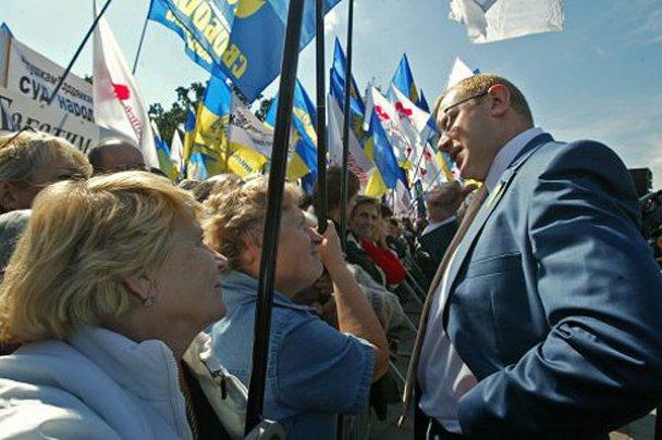 Мітинг опозиції біля Верховної ради_9