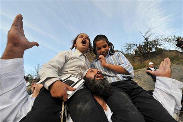 Хасиди в Умані. Новий 5771 рік_8