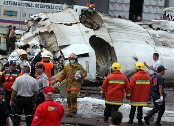Авіакатастрофа в Венесуелі