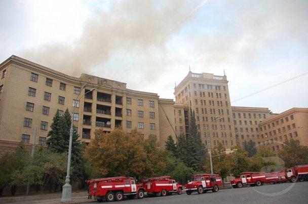 Пожежу в університеті Каразіна локалізували_2