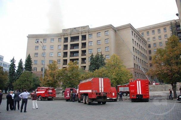 Пожежу в університеті Каразіна локалізували_5