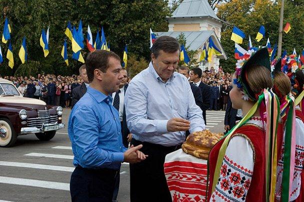 Янукович і Мєдвєдєв у Міжнародному автопробігу_6