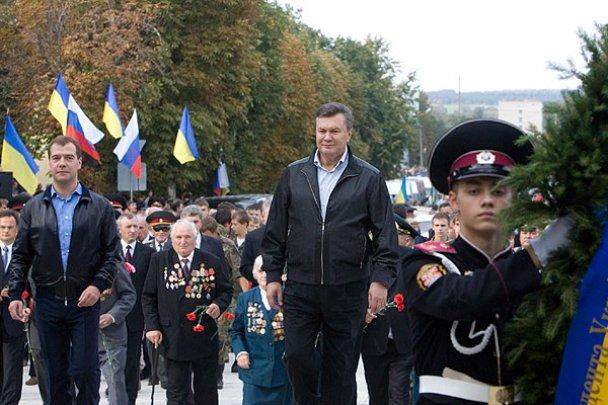 Янукович і Мєдвєдєв у Міжнародному автопробігу_22