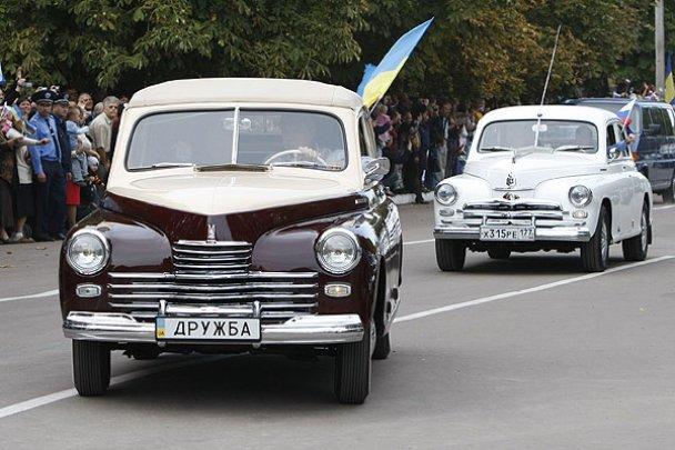 Янукович і Мєдвєдєв у Міжнародному автопробігу_29