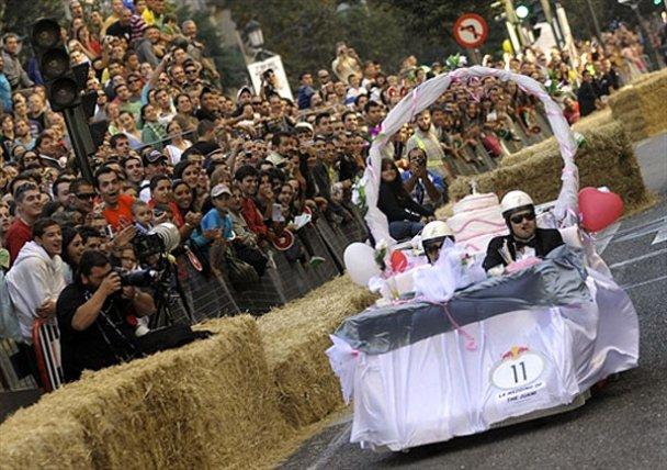 Сумасшедшие гонки Red Bull в Испании