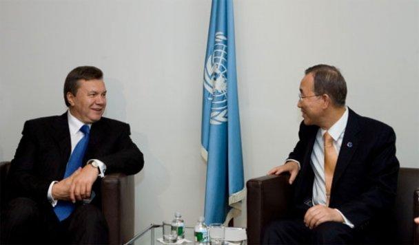 Робочий візит Януковича до США_2