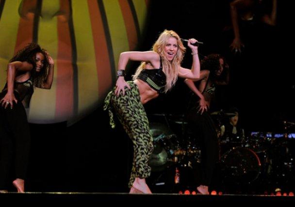 Шакіра дала двогодинний концерт у Нью-Йорку