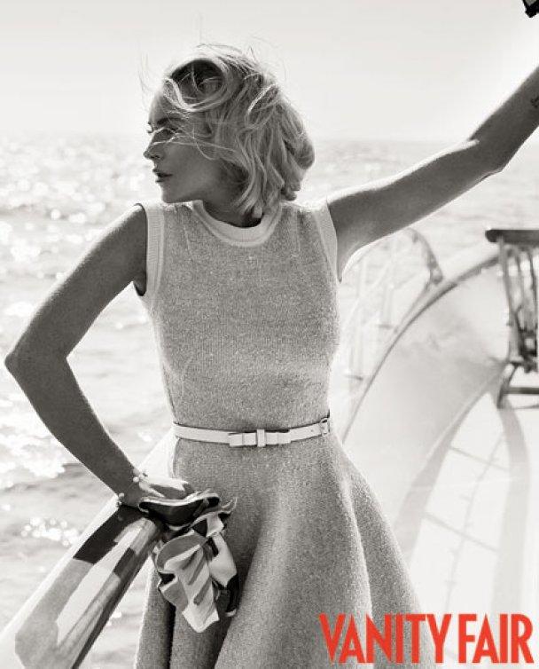 Изысканная фотосессия Линдсей Лохан для Vanity Fair