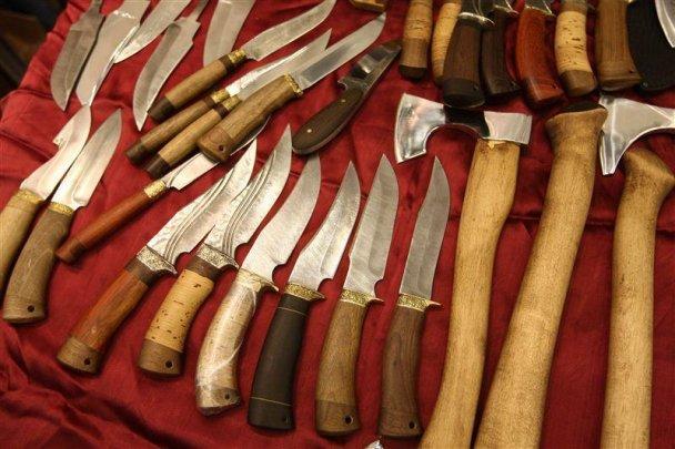 Могильов відкрив виставку зброї